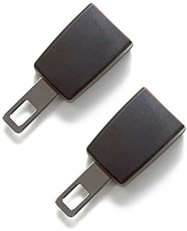 Seat Belt Extender Pros E4 Certified Rigid 3 Inch Seat Belt Extension 2-Pack Black (7/8 Inch Width Type A Metal Tongue) Buckle up and Drive Safely