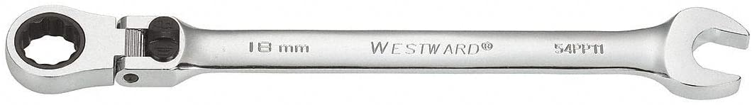 Westward 54PP11 - Wrench Comb./Flexible Head Metric 18mm