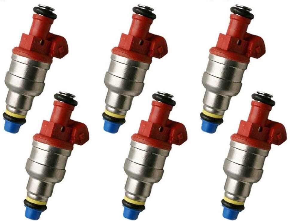 x6 Genuine OEM Fuel Injectors For 1995-1997 Mazda B4000 4.0L V6#0280150931