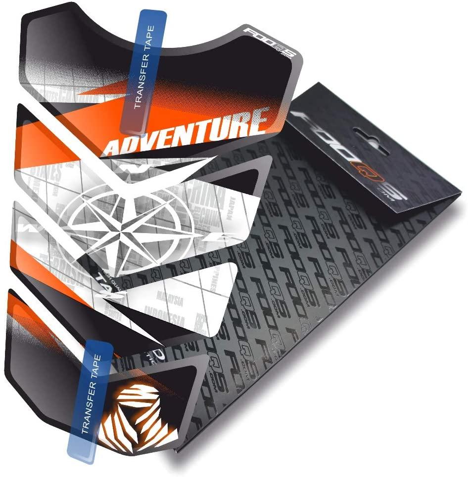 Tankpad for KTM 1050 1090 1190 1290 Adventure AdventureR R Adventure-R (White/Black/Orange 2)