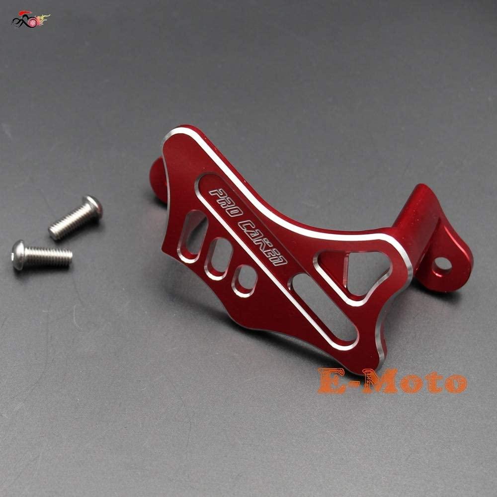 Accessories RED CNC Rear Brake Caliper Guard Protector Cover for Honda CR125R 250R 450R Pit Bike New E-Moto
