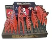 Ega Master DISPLAY OF 36 BOX JOINT PLIERS RED COLOUR WITH HANDLES