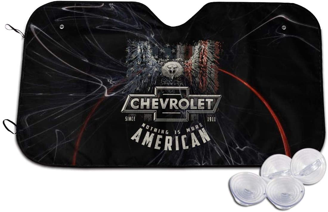Chevy More American Auto Sunshade Car Sun Windshield Protection Car SUV Truck
