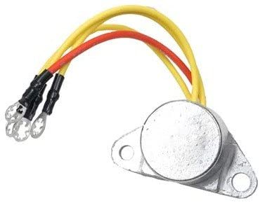 Rareelectrical NEW VOLTAGE REGULATOR COMPATIBLE WITH OMC OUTBOARD ENGINES 173692 581778 582304 583940 25A