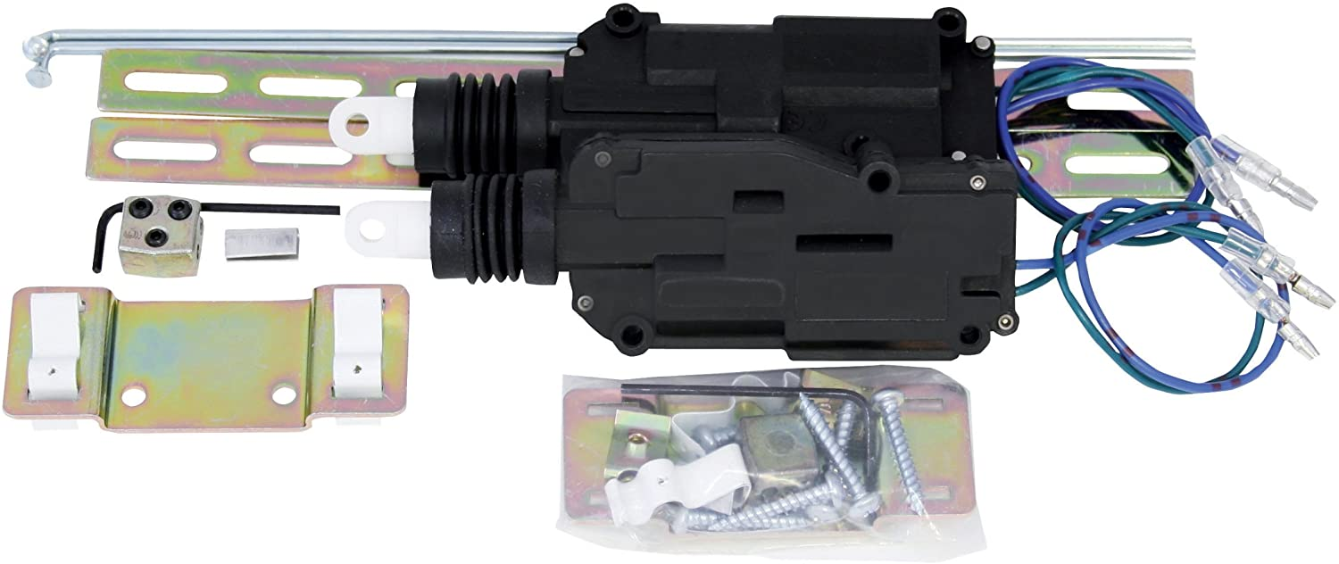 Install Bay Actuators Kit Cable Style 2 Door Newer Vehicle With Cable Lock Door Systems Each- DLA-CK2