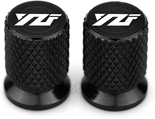 ASDZ Practical Motorbike Accessories YZF Motorcycle Tire Valve Air Port Stem Cap Cover Plug CNC Aluminum Motorcycle Accessories for Yamaha YZF R3 R25 R6 R1 2013-2019
