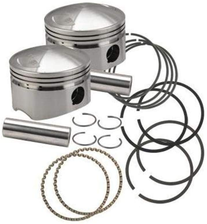 S&S Cycle Forged Piston Kit (80ci.) Bore 3 1/2
