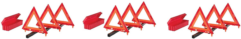 Cortina 95-03-009 3 Piece Triangle Warning Kit (Pack of 3)