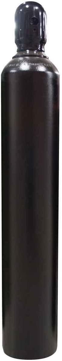 125 cu/ft Argon-Nitrogen-Helium Welding Gas Cylinder Tank CGA 580 - EMPTY