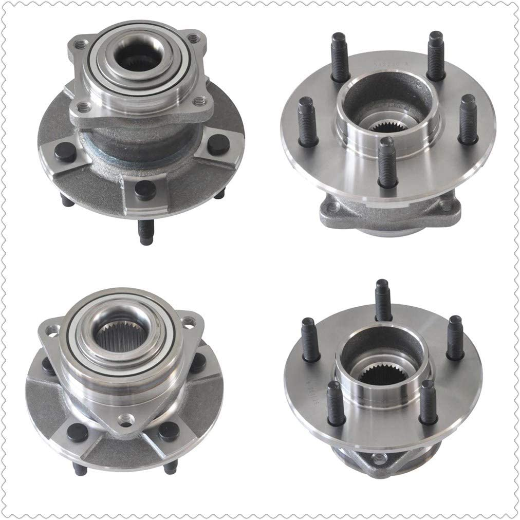 512230x2+513190x2 Front & Rear Wheel Hub & Bearing Assembly