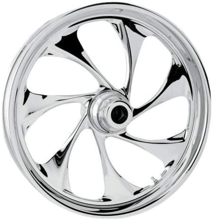 RC Components Drifter Chrome 21x3.5 Front Wheel (Single Disc) , Color: Chrome, Position: Front, Rim Size: 21 21350-9935-101C