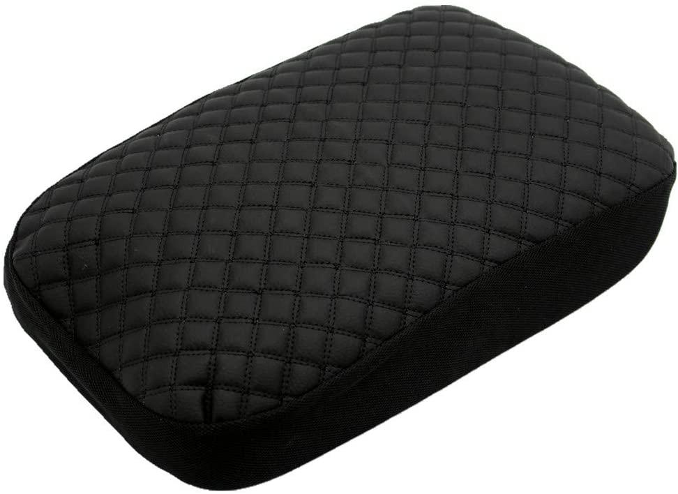 Ezzy Auto Black Center Console Lid Suture Cover Console Armrest Lid Box fit for Crosstrek