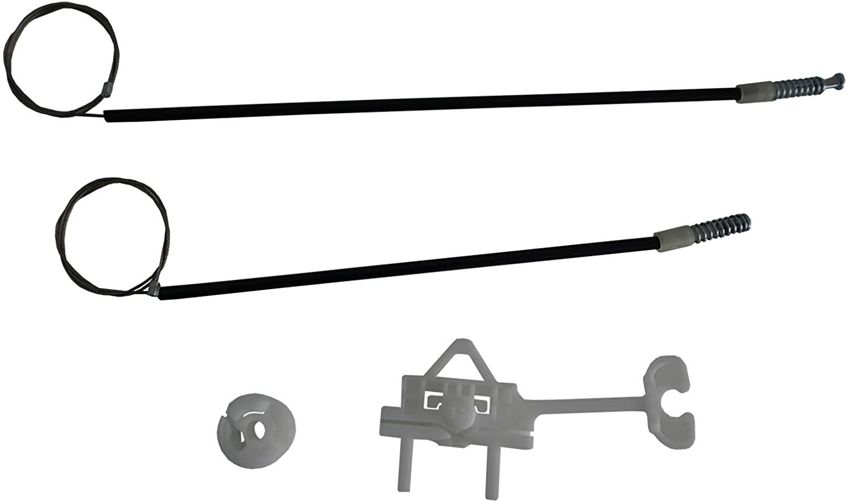 ESC EWR5283 Compatible with/Replacement Part Manual Window Regulator Repair Set Rear Left 51789674 for Fiat Linea
