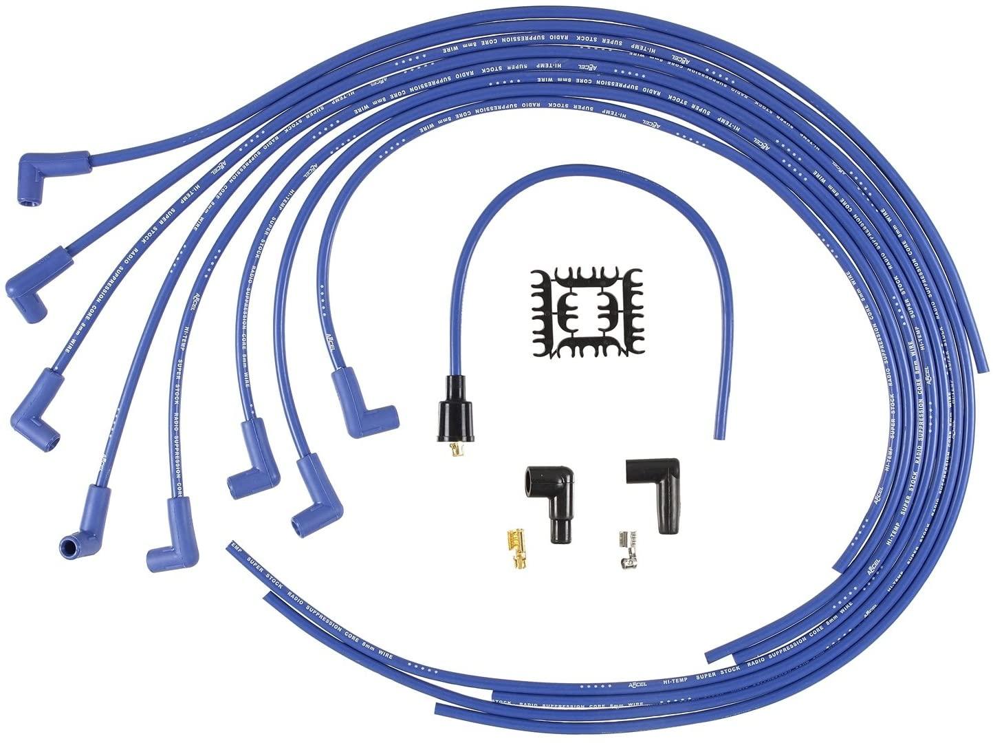 Accel 8Mm Spark Plug Wire Set Super Stock Graphite Universal