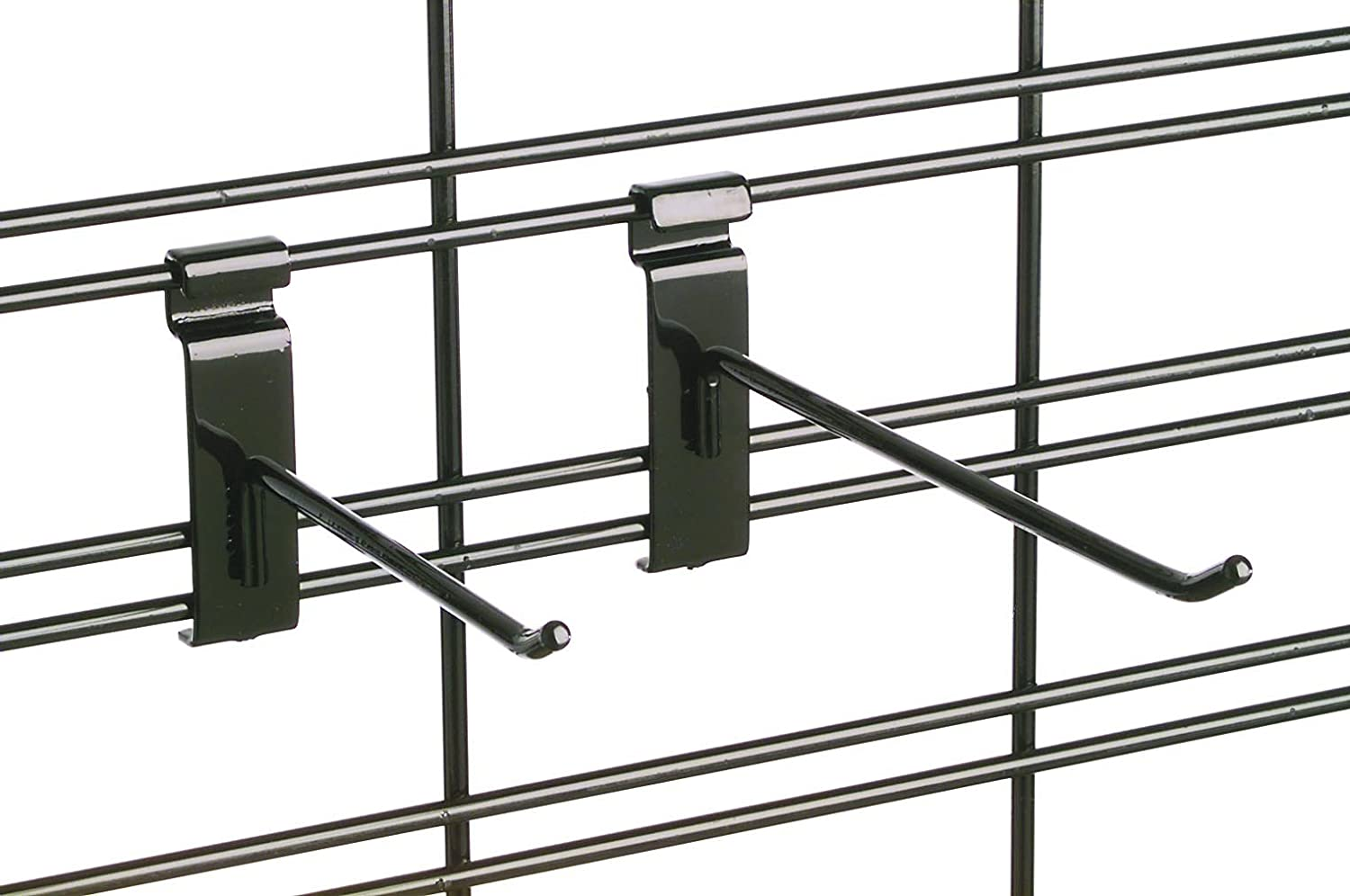 Tucker Rocky 8in. Display Slat Hook - Black EBLH8