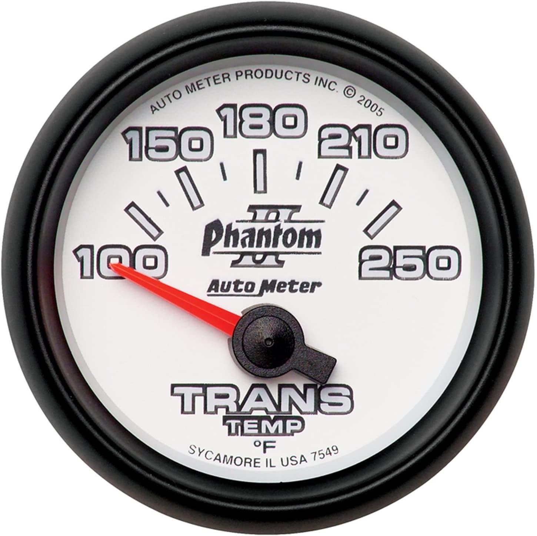 AUTO METER 7549 Transmission Temperature Gauge
