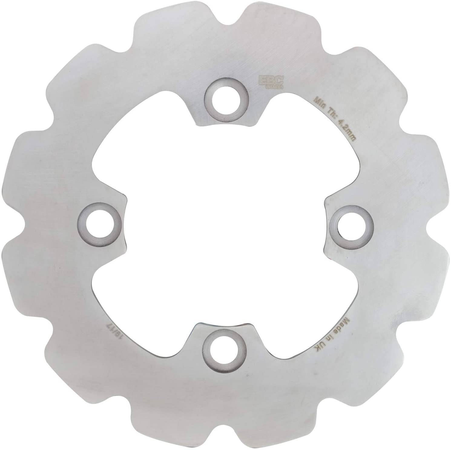 EBC UTVX6275 UTVX Vee Profiled Contour Brake Rotor