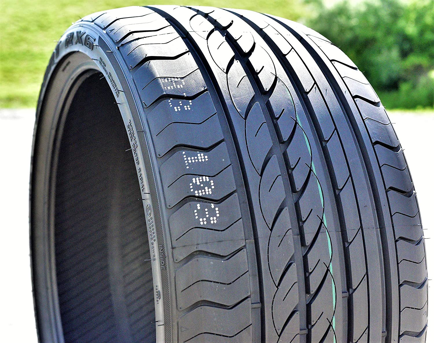 Set of 2 (TWO) Joyroad Sport RX6 High Performance All Season Tires - 275/30ZR20 93W