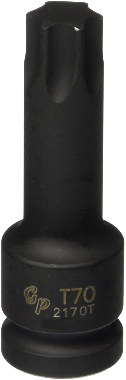 Grey Pneumatic (2170T) 1/2 Drive x T70 Internal Star Impact Driver Socket