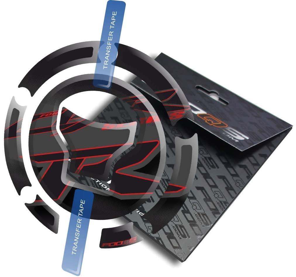 Fooqs Cappad for Honda CBR 1000rr Cbr1000rr 1000 Cbr600rr New Model (Black)