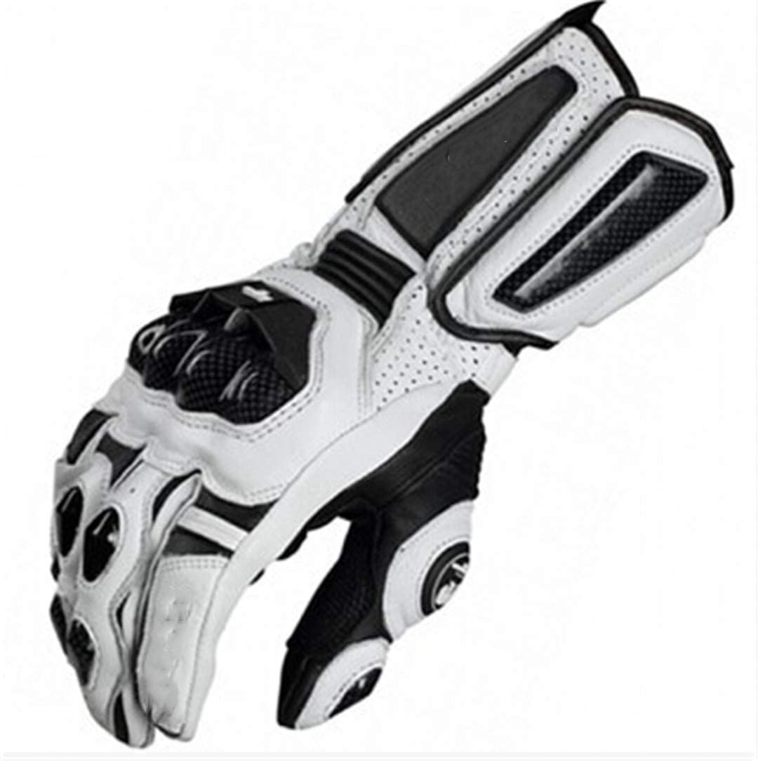 Motorcycle Gloves Road Racing Cycling Glove Genuine Leather Gloves Carbon Gloves