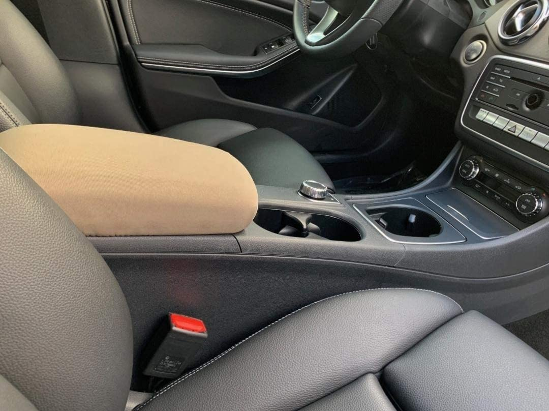 Auto Console Covers- Compatible with The Mercedes CLA 250 2014-2019. Center Console Armrest Cover Waterproof Neoprene Fabric. The Console Cover is not Sold or Created by Mercedes-Benz Motor Co.