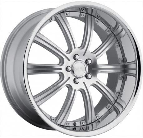 Concept One 748 RS-10 Silver Machined Wheel with Painted Finish (20x10/5x120mm)