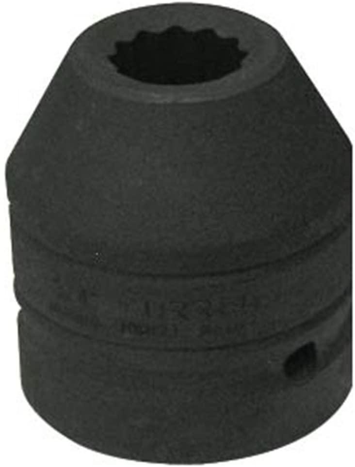 URREA 10017T 1-Inch Drive 12-Point  1 1/16-Inch Impact Socket