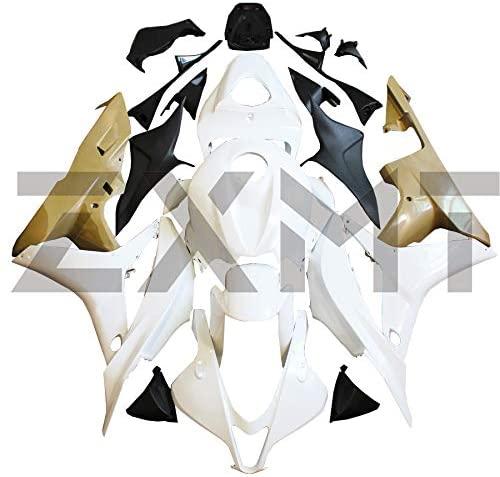ZXMT Motorcycle Fairing Kit Unpainted Fairings for HONDA CBR600RR F5 2007-2008 (26 Pcs)