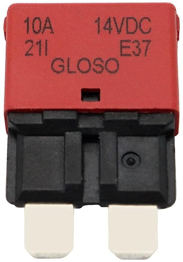 Childplaymate Circuit Breaker-DC 28V Auto Reset ATC Blade Fuse for Automotive Car Marine