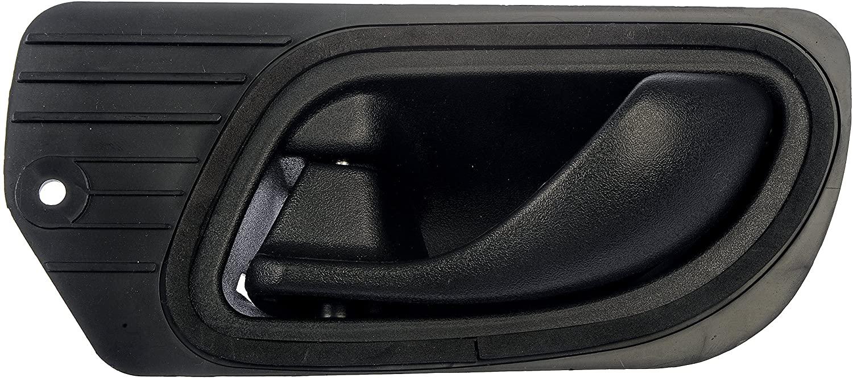 Dorman 80658 Front Driver Side Interior Door Handle for Select Ford Models, Black