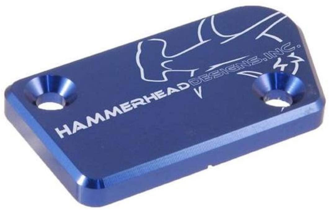 Hammerhead Designs 35-0222-00-20 Front Brake Master Cylinder Cover - Blue