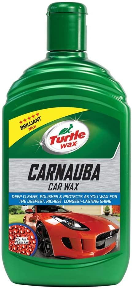Carnauba Car Wax Turtle Wax 16.90 oz Long Lasting Shine & Protection