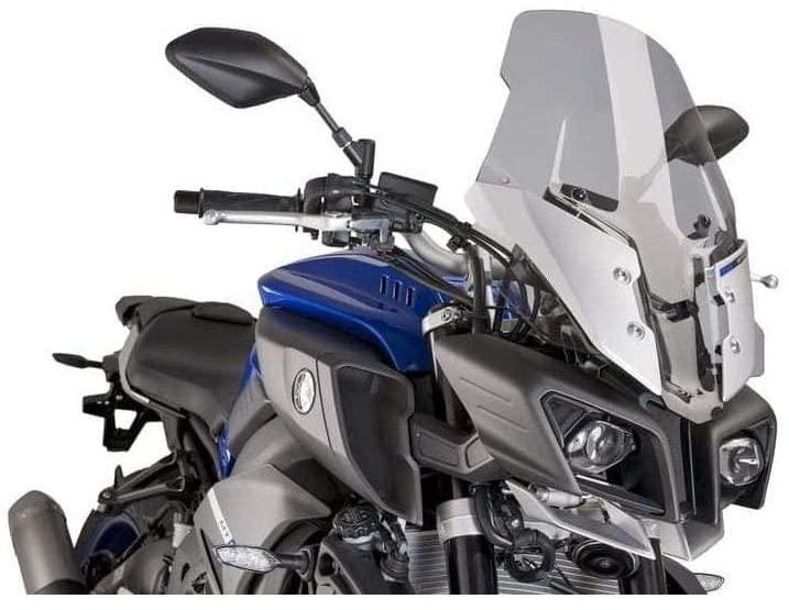 Puig Touring Windscreen (Smoke) for 18-20 Yamaha MT-10