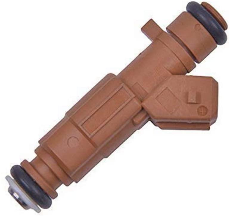 NaNa-AUTO 4pcs Fuel Injector Nozzles 0280156282 for Chevrolet Chery Tiggo A5