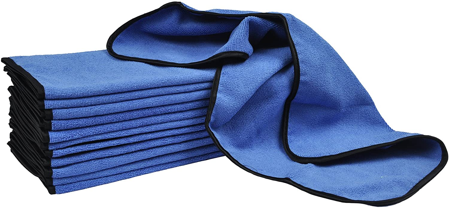 Detailer's Preference Professional Cleaning and Fast Drying Premium Microfiber Towels 16