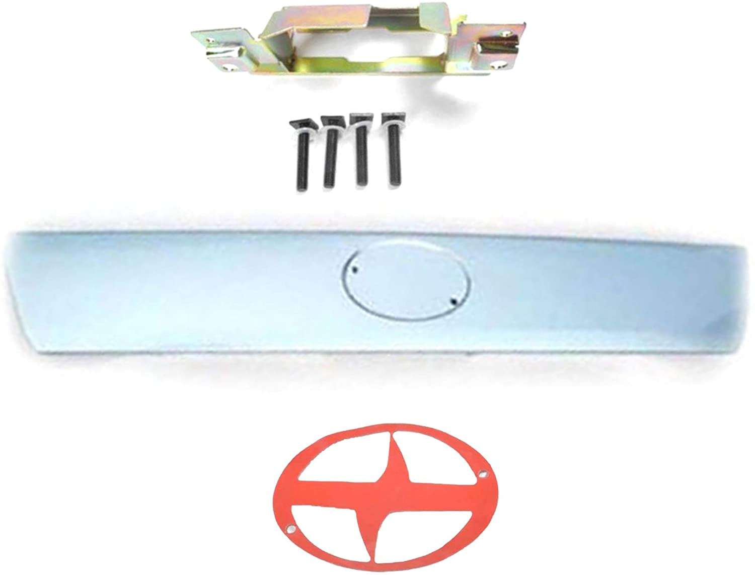 For Scion 2005-2010 tC Azure Pearl 8Q6 Tailgate Handle and Metal Bracket and Logo sticker 2005 2006 2007 2008 2009 2010
