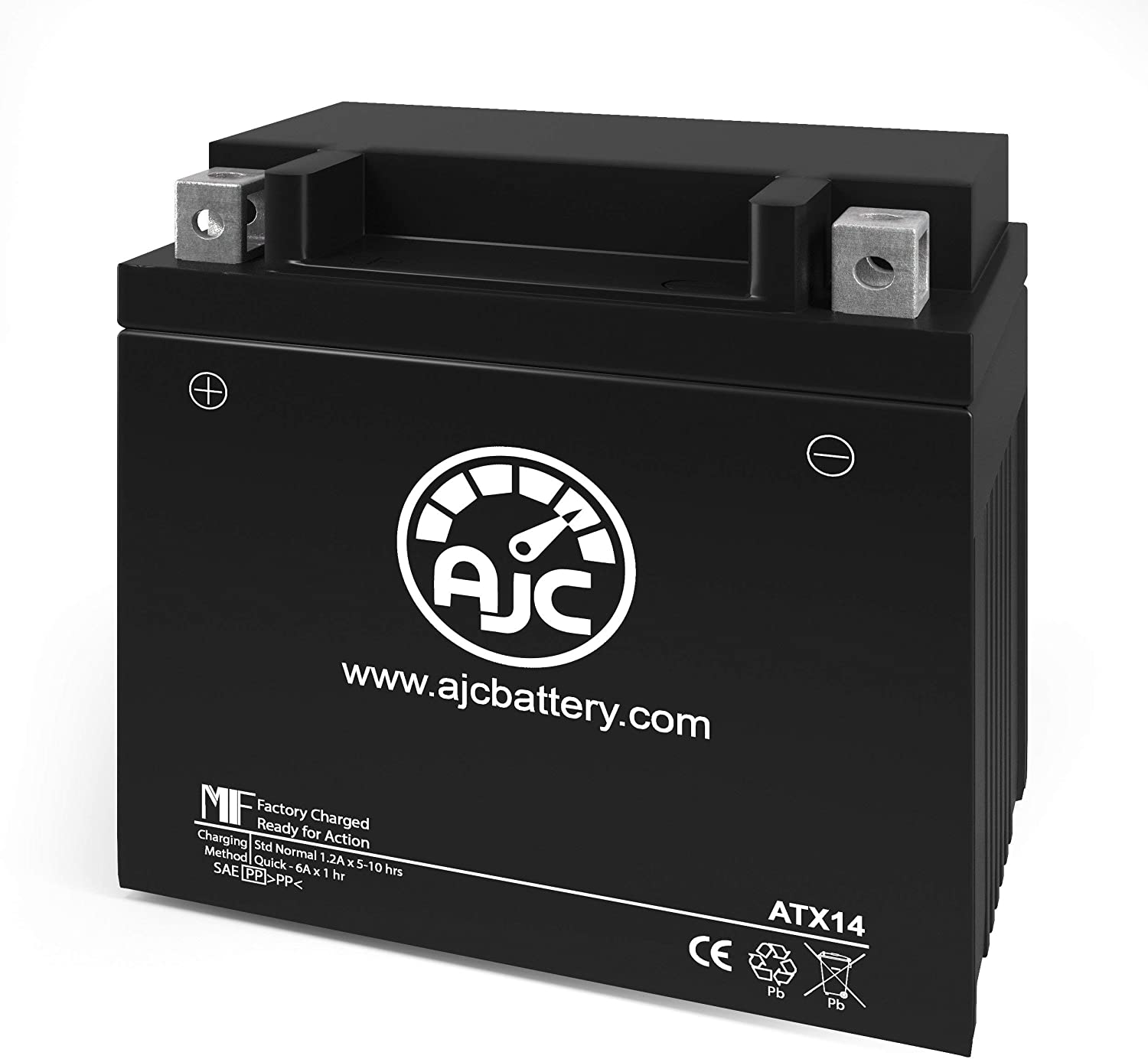 Suzuki C90B Boulevard 1500CC Motorcycle Replacement Battery (2005-2008) - This is an AJC Brand Replacement