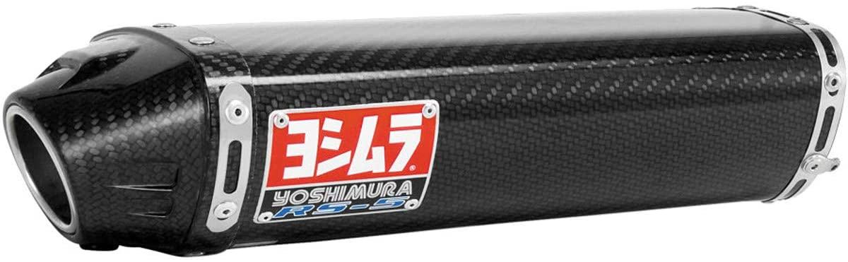Yoshimura RS-5 Slip-On Exhaust (Street/Carbon Fiber) for 05-06 Kawasaki ZX636