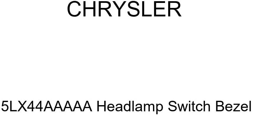 Genuine Chrysler 5LX44AAAAA Headlamp Switch Bezel