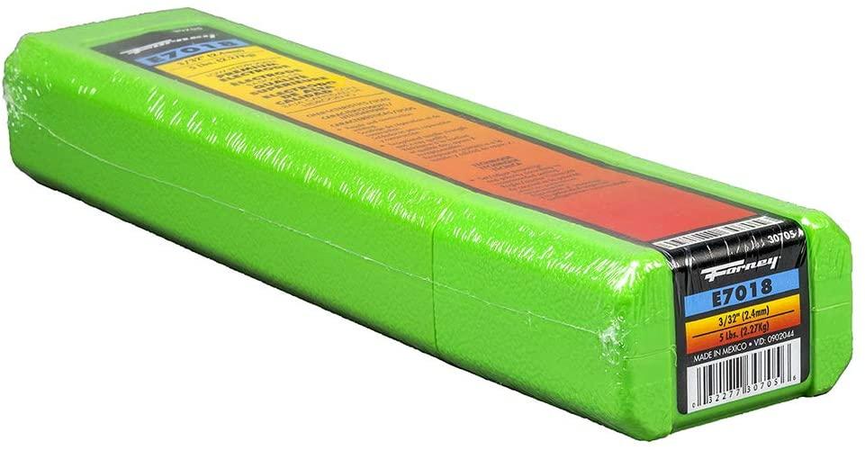 Forney 30705 E7018 Welding Rod, 3/32-Inch, 5-Pound