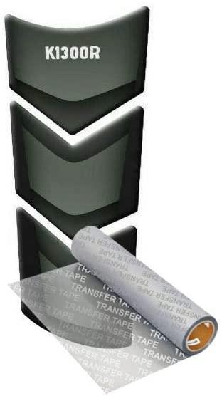 Tankpad for BM.W K 1300 R 2008-2012 (Black/Silver 2)