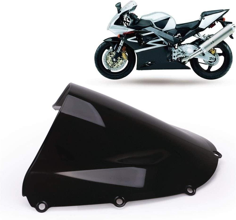 SHENLIJUAN Compatible with H o n d a CBR900RR CBR954 Windshield Motorcycle Windshield Baffle (Color : Black)