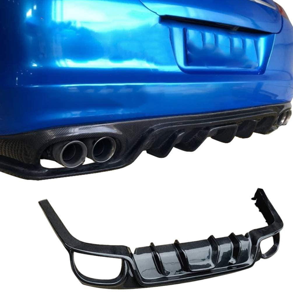 JC SPORTLINE fits Porsche Panamera S 4 4S 2010-2013 Carbon Fiber Rear Diffuser