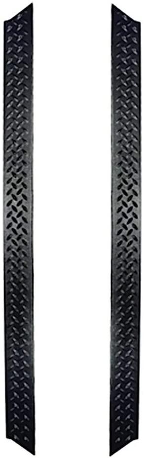 Rugged Ridge 11650.05 Black Diamond Plate Rocker Side Panel Kit