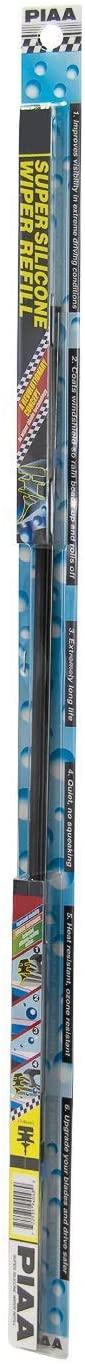 PIAA 94040 Silicone Wiper Blade Refill, 16 (Pack of 1)