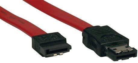 Tripp Lite P952-18I eSATA to SATA Signal Cable, 7P-M/7P-M - 18in