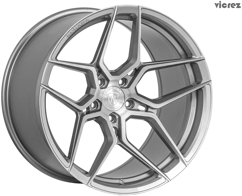 RFX11 20x9 5x112 45ET CB 66.56 Brushed Titanium (Standard)