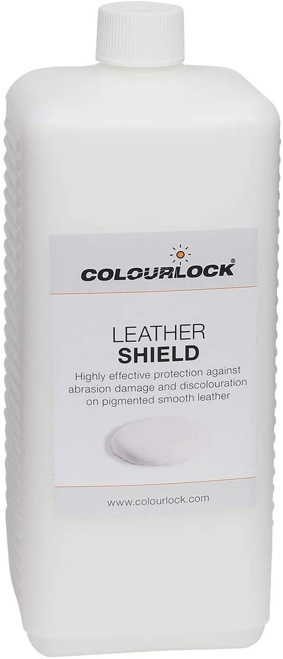 Colourlock Leather Shield | for New or Light Colored Leather | Protection from Ink & dye transfers and Friction | 1 Litre