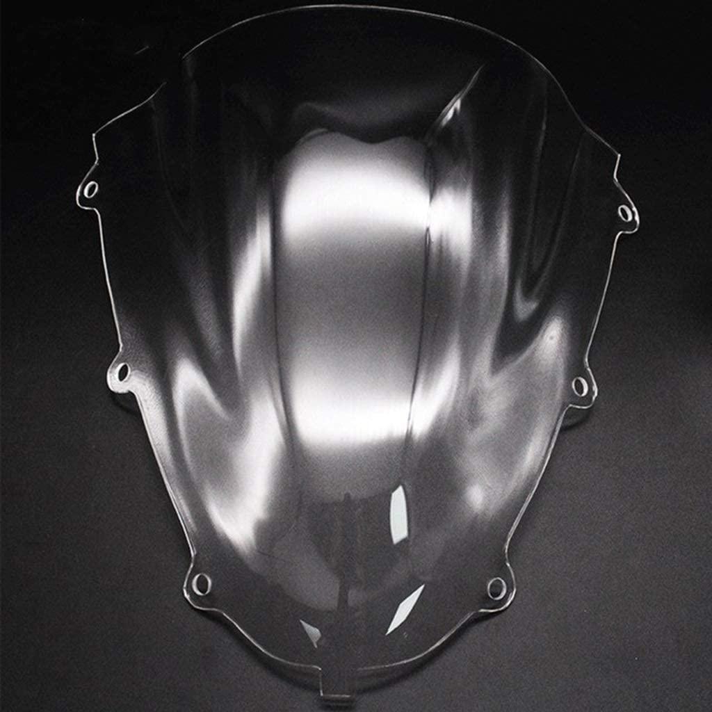 Motorcycle Windscreen Wind Deflector Motorcycle Sports Racing Windshield WindScreen Deflector Fit For GSX-R150 GSX-R150 2017 2018 2019 GSXR125 GSXR150 Double Bubble Shield FF Windproof and Rainproof